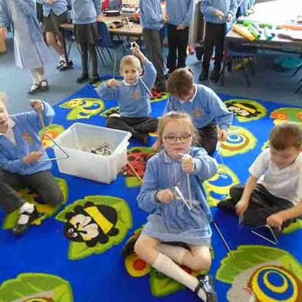 Exploring sounds using instruments – Y2