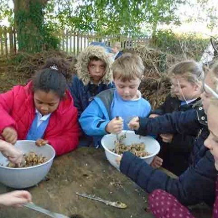 Outdoor Explorers – Bird feeding