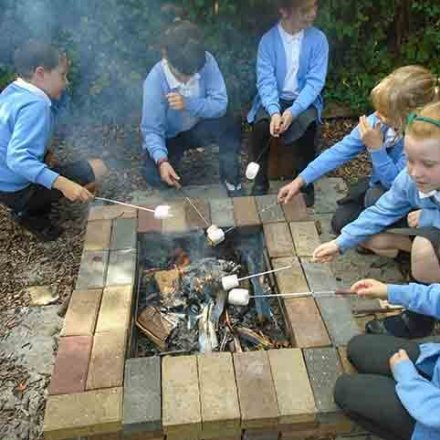 Stone Age cooking around the firepit – Y3