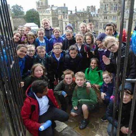 Warwick Castle trip – Y6