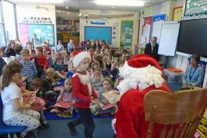 KS1 Father Christmas 10 2018-2019