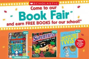 Scholastic Book Fair Poster 2019