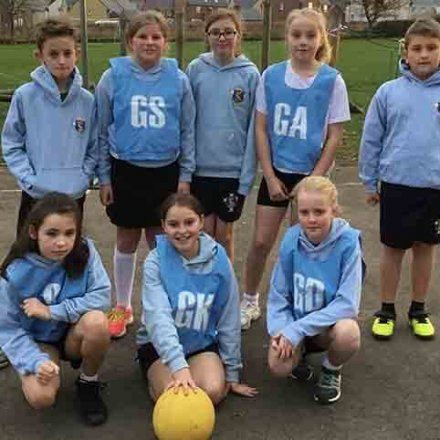 Our Netball teams over the autumn term – Y5/Y6