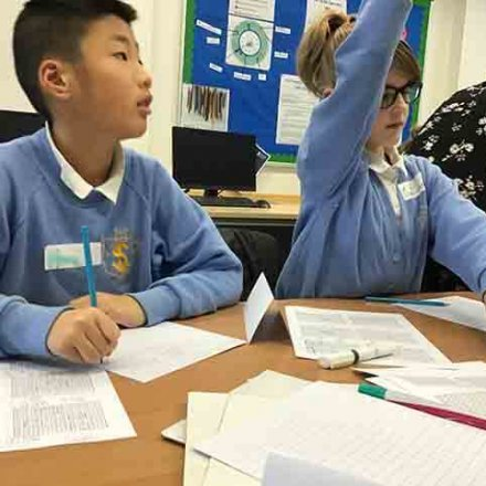 Gifted and talented maths day at Gastrells School – Y6