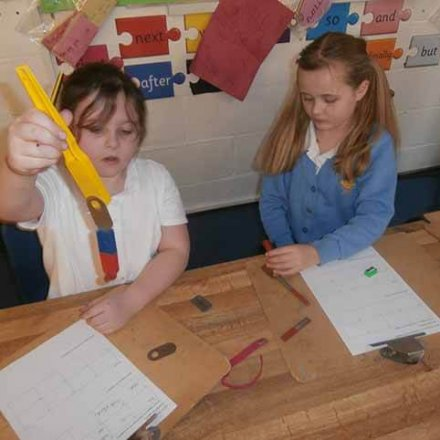 Science – forces in action – Y3