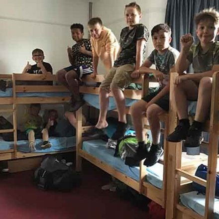 PGL Day 1 – We have arrived safely and all settled into our rooms!