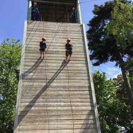 PGL Day 4 – Climbing and trapeze today!