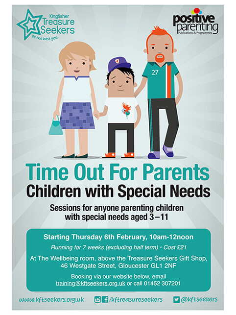 Time Out for Parents of Children with Special Needs