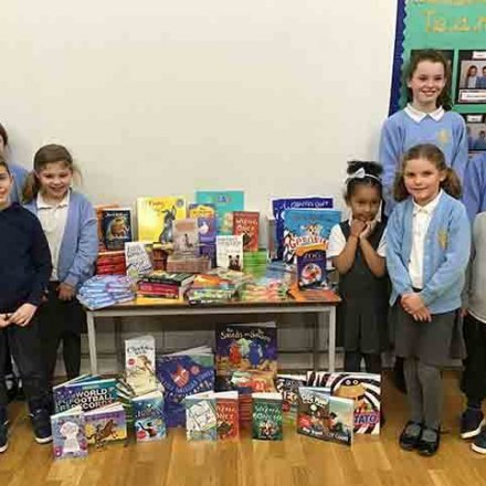 Scholastic Book Fair – books purchased for school