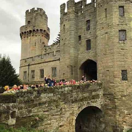 Visit to Warwick Castle – Y2