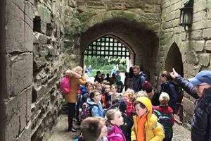 Y2 Warwick Castle Trip 4 2019-2020