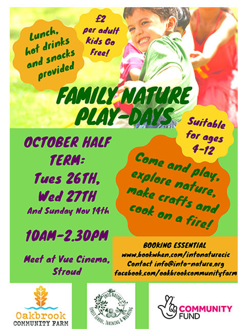 Family nature play days